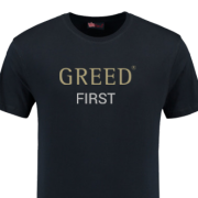 greed first tshirt black the greed game