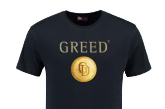 GREED t shirt coin the greedgame