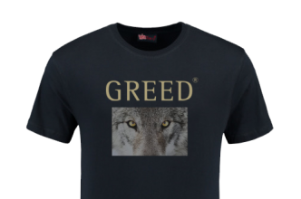 tshirt wolf greed game